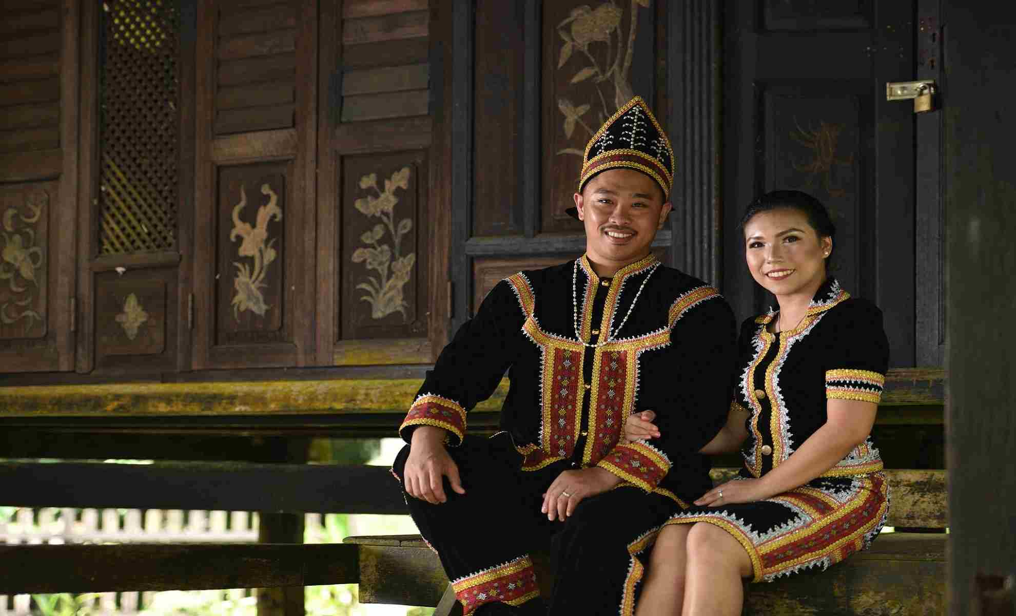 borneo traditional dress
