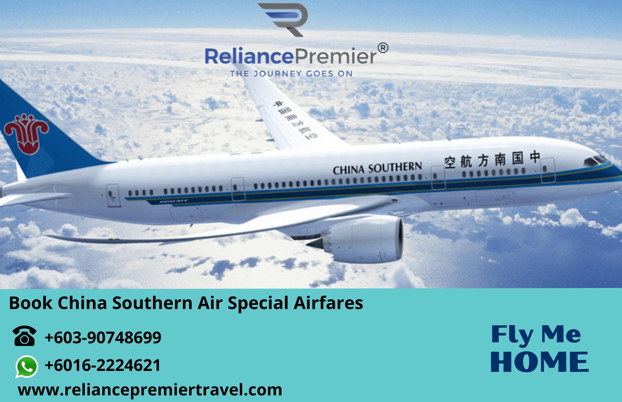 china southern air flight booking