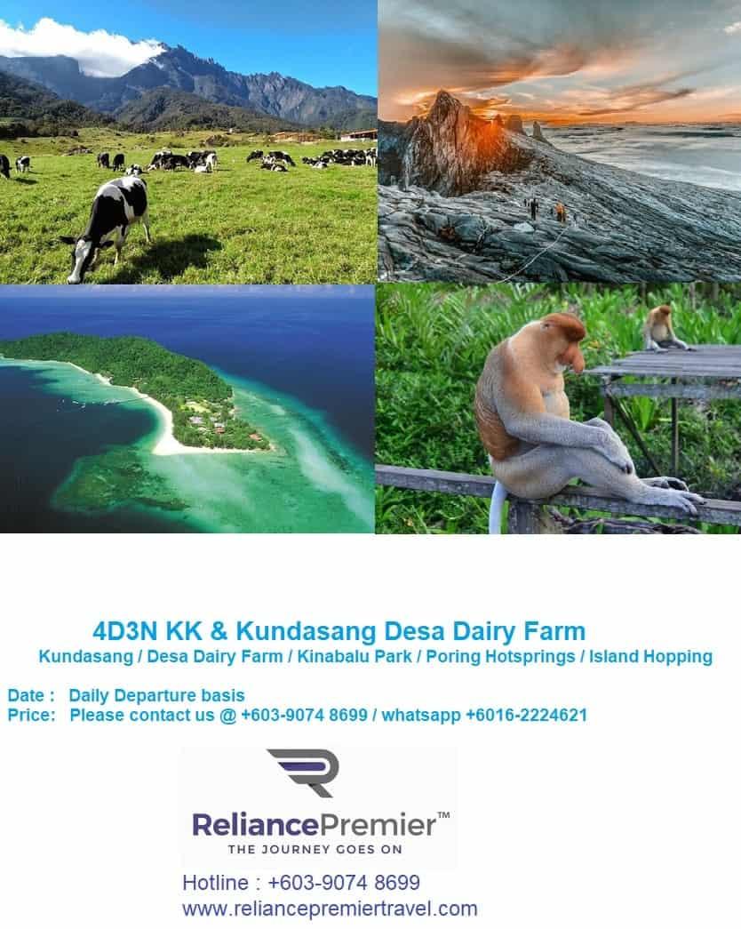 4D3N Sabah package