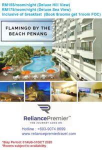 Promo FLAMINGO BY THE BEACH PENANG