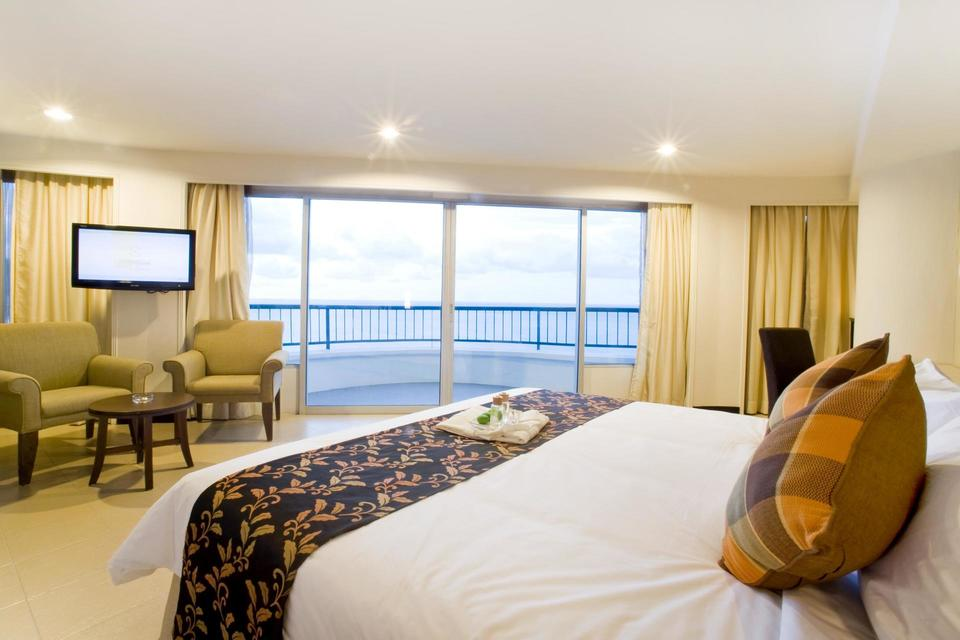 sea view room Flamingo by the beach penang