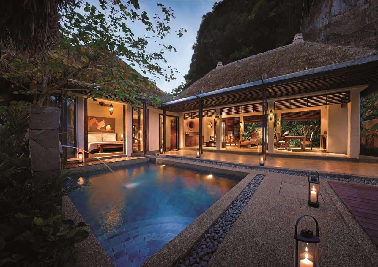 pool banjaran hot spring resort