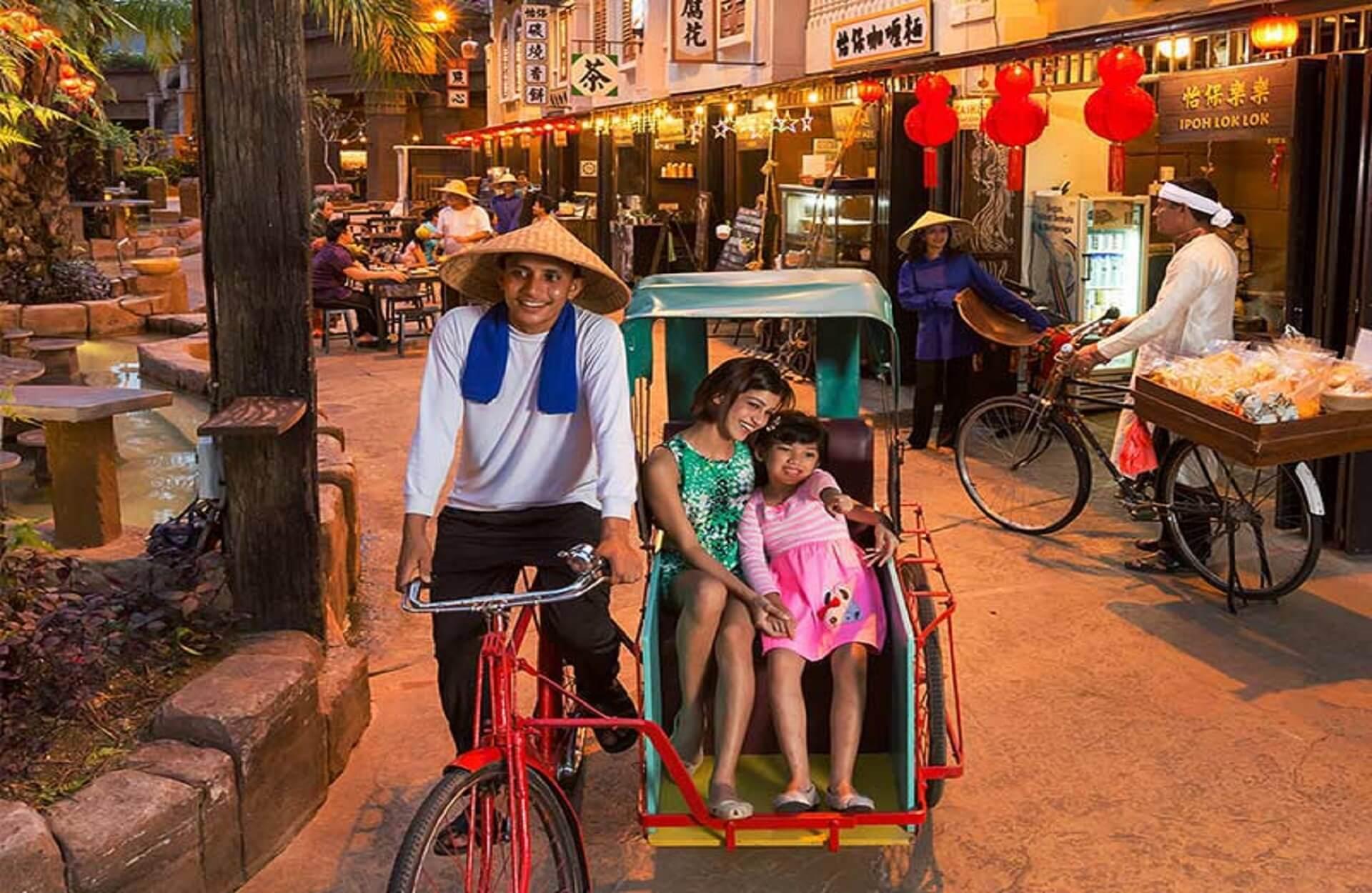 tambun sunway rickshaw