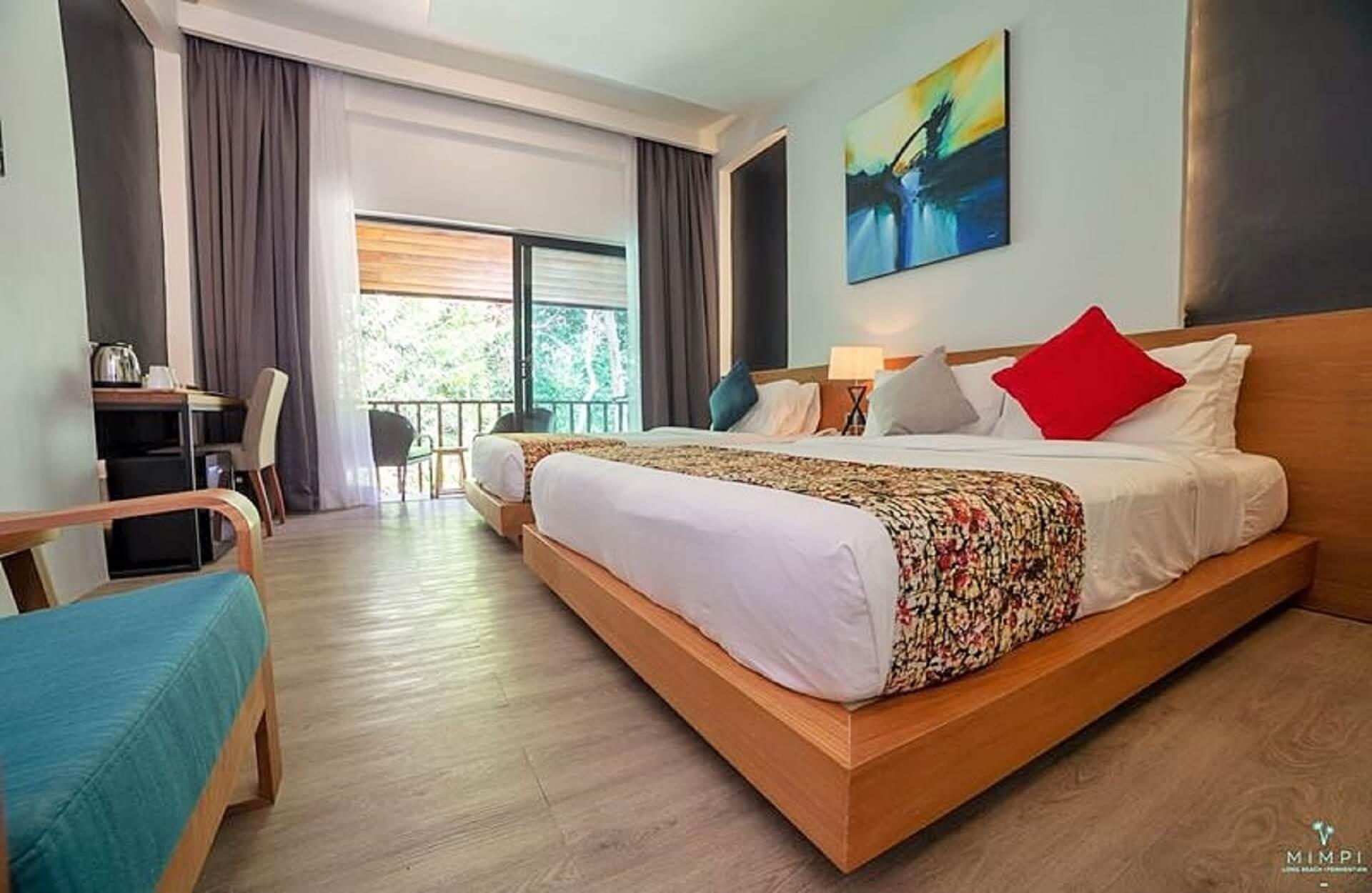 Bedroom Mimpi Long Beach Resort