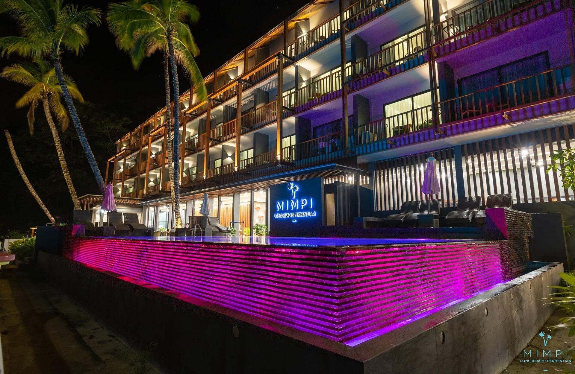Pool Mimpi Long Beach Resort