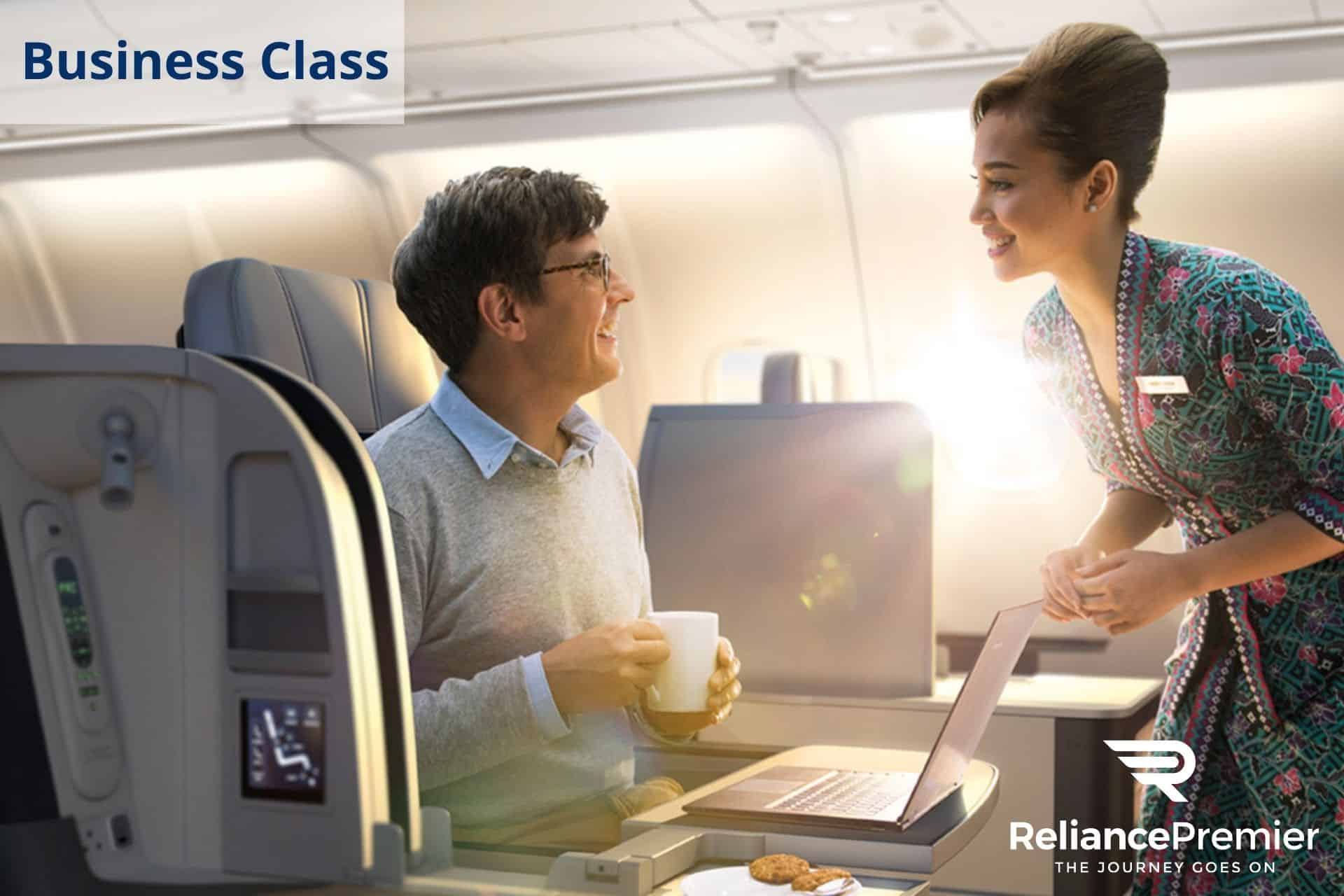 Mas Airlines Business Class