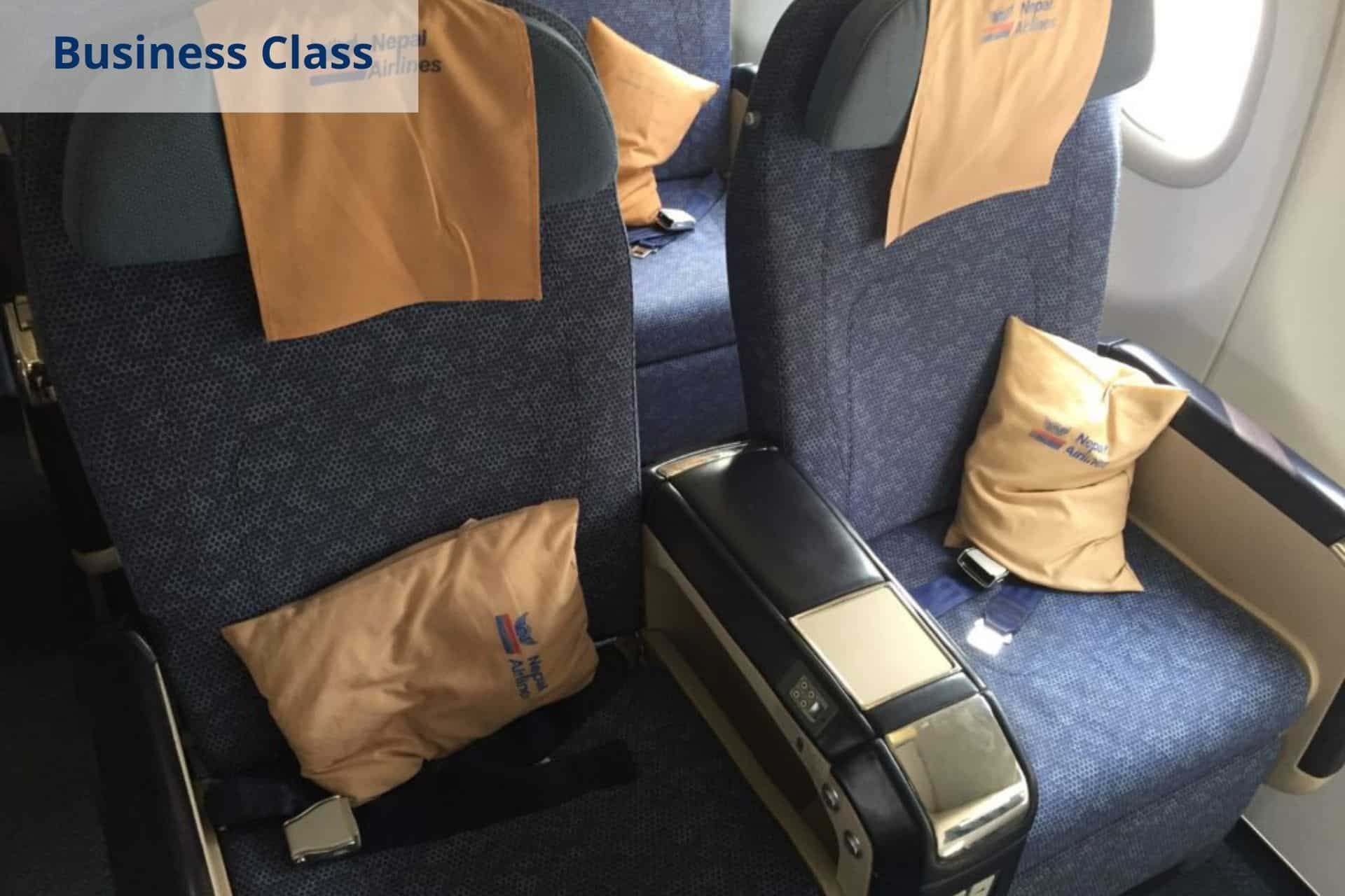 Nepal Airlines Business Class