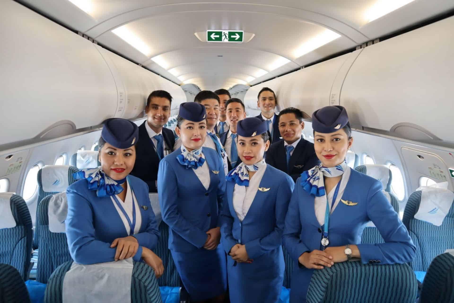 Nepal Airlines Crew