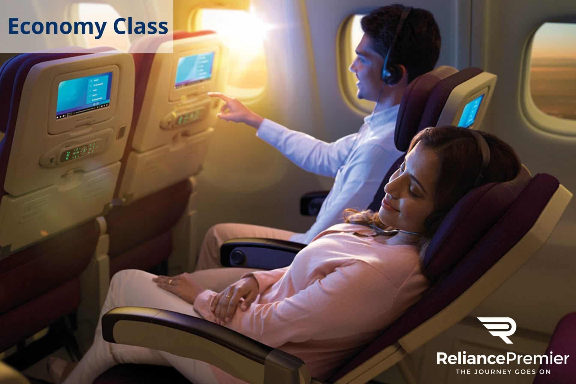 Mas Airlines Economy Class