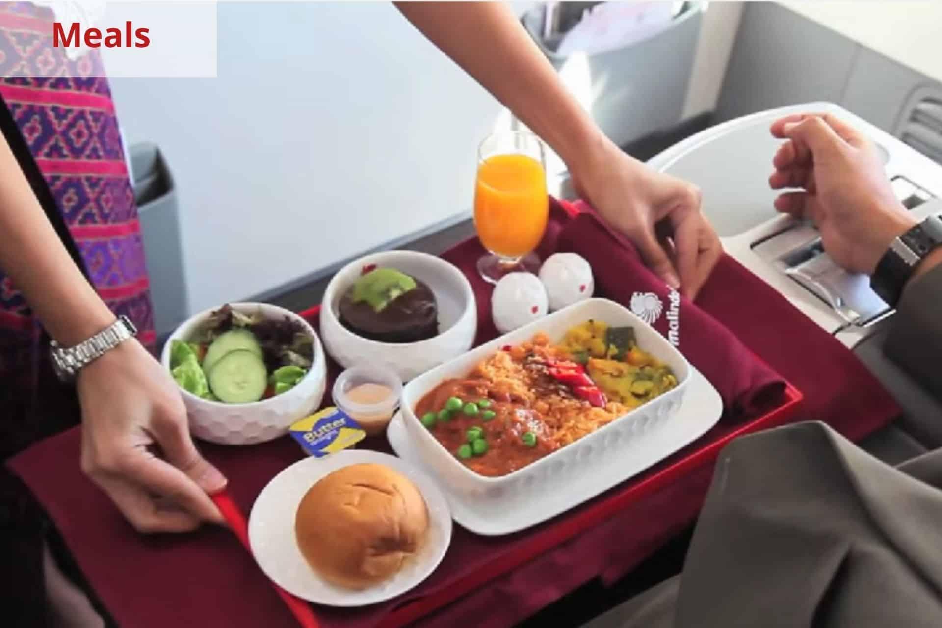 Malindo Air Meals
