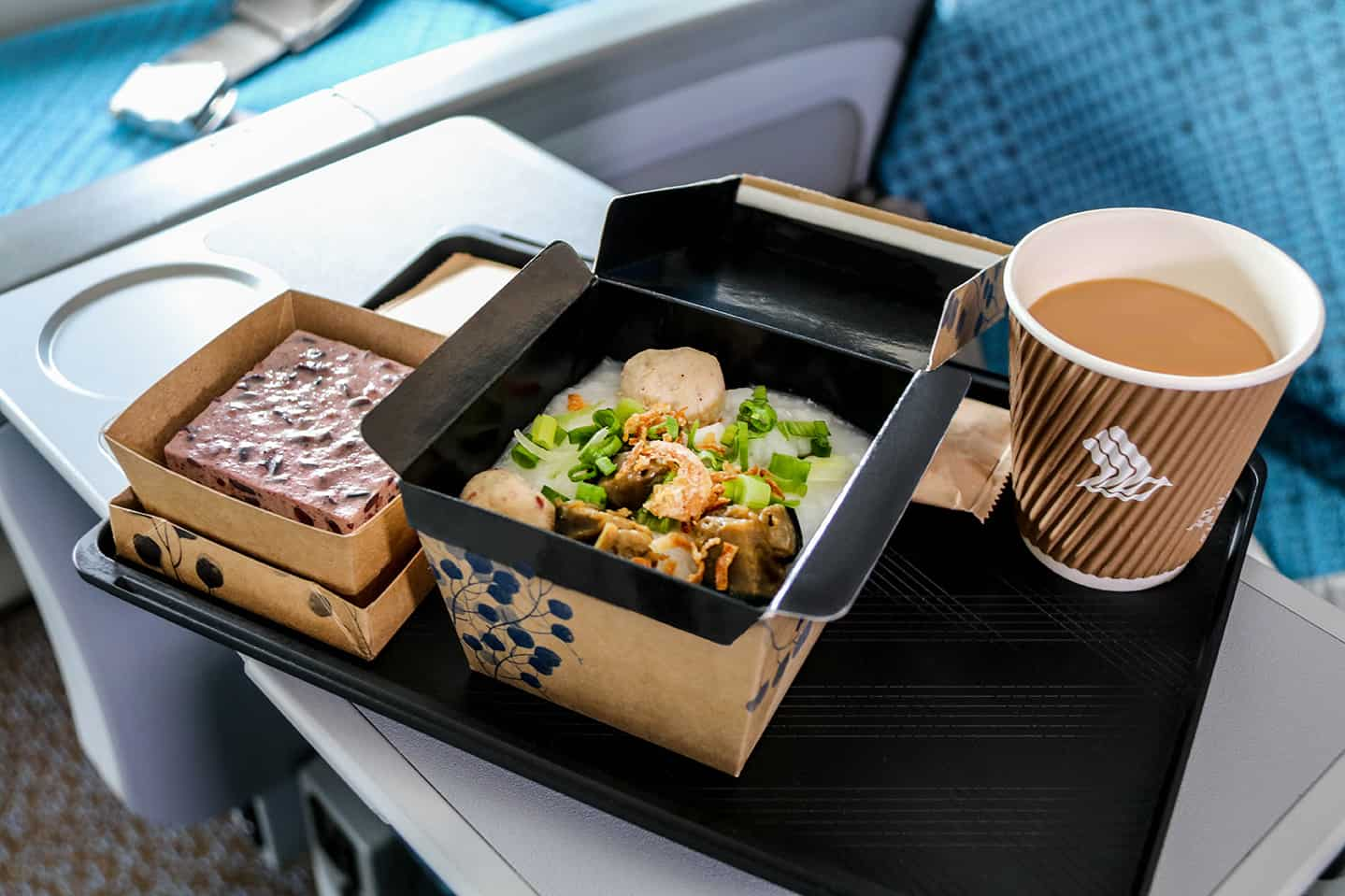 Singapore Airlines Meals