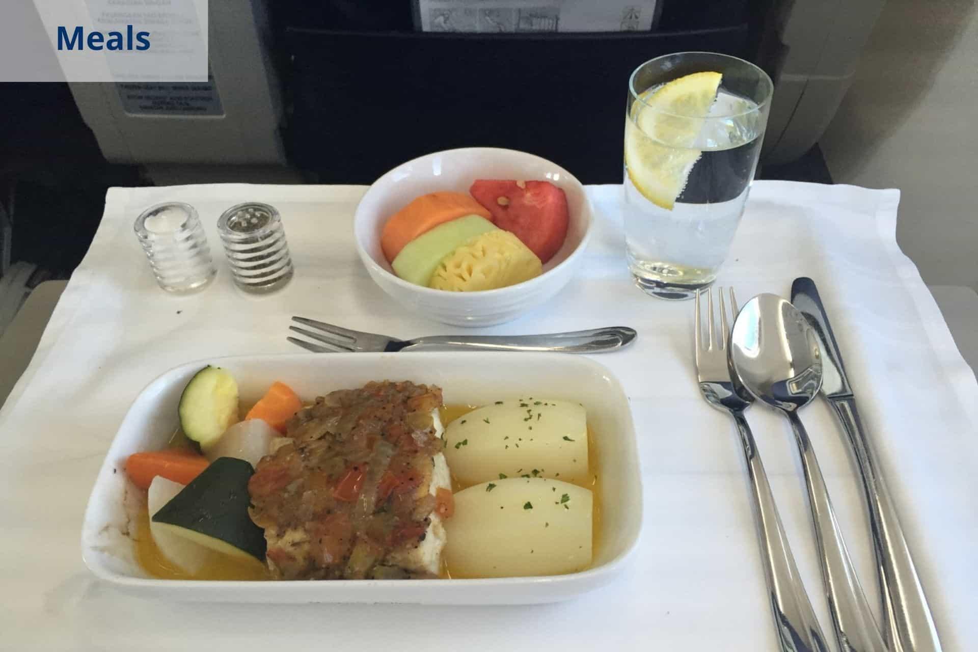 meals onboard