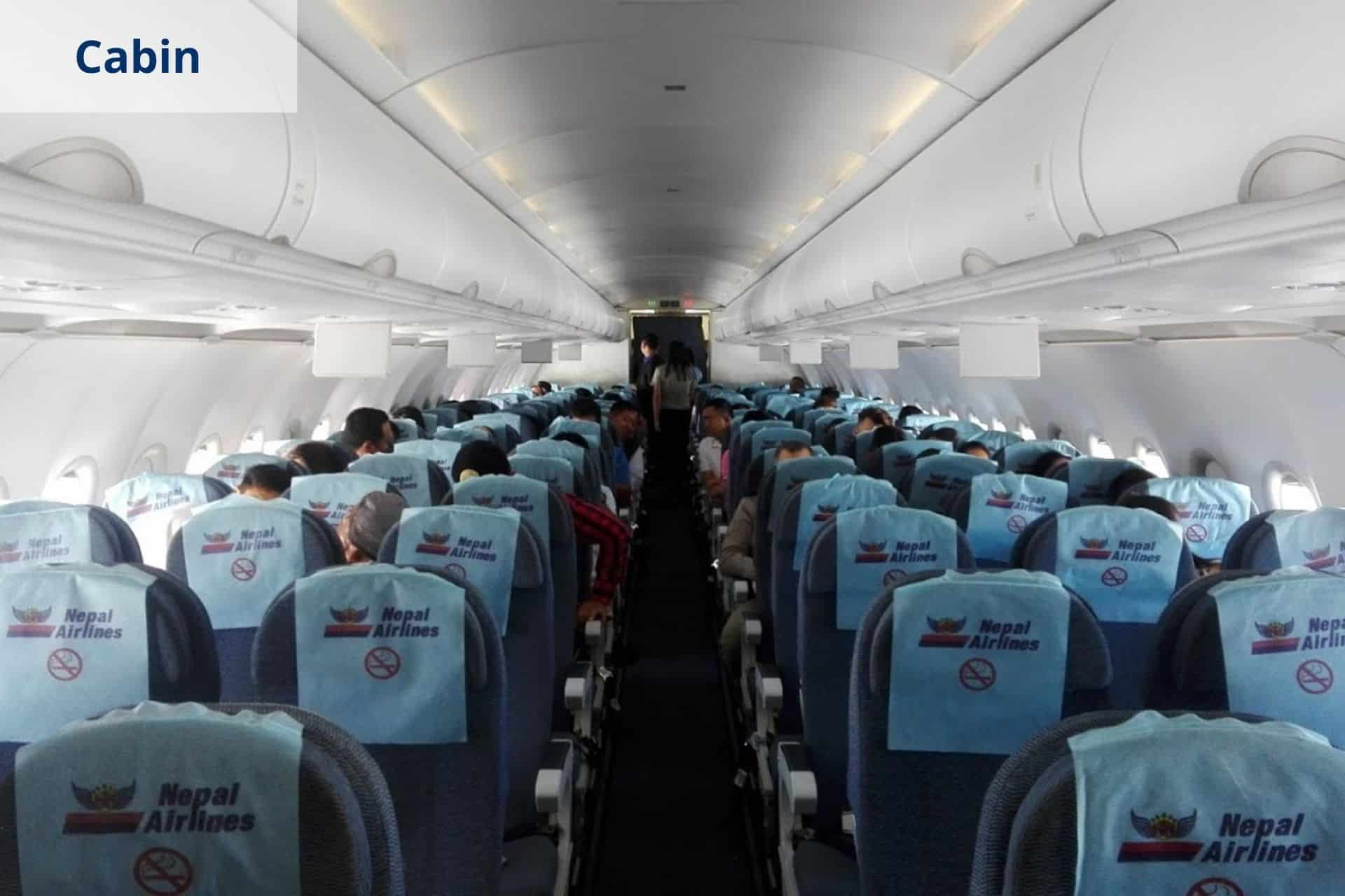 Nepal Airlines Cabin