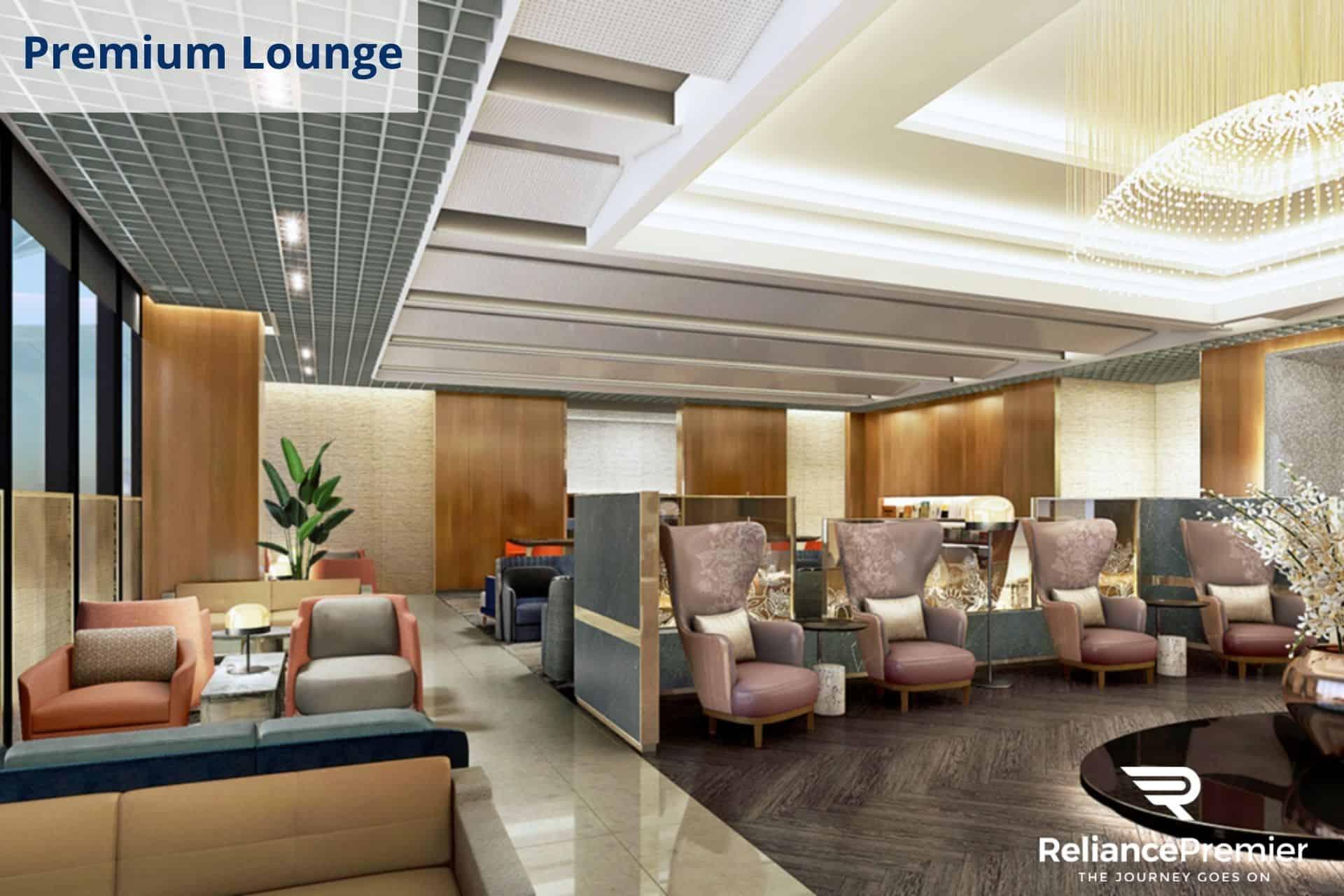 Singapore Airlines Premium Lounge 2