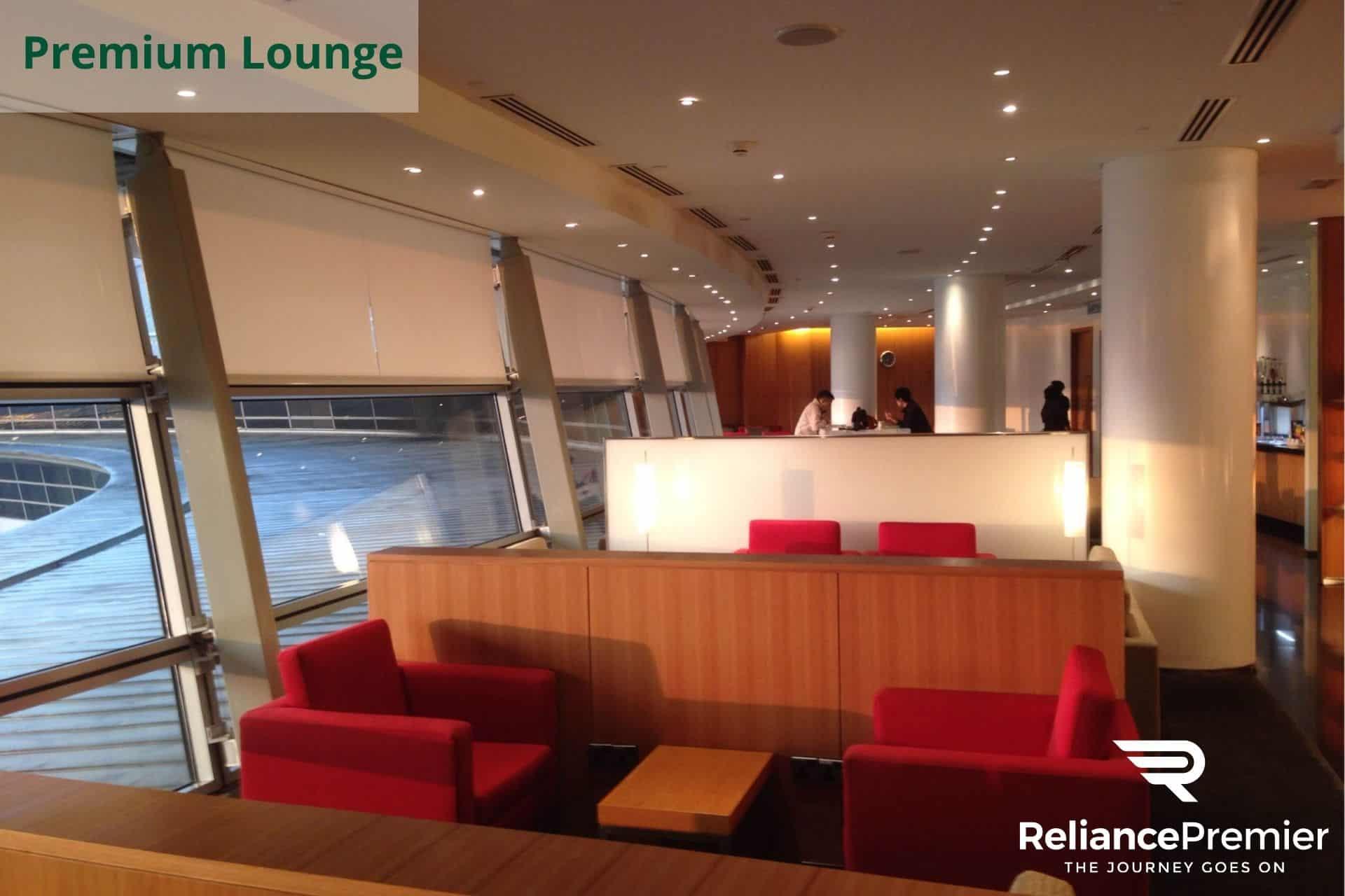 Cathay pacific Premium Lounge