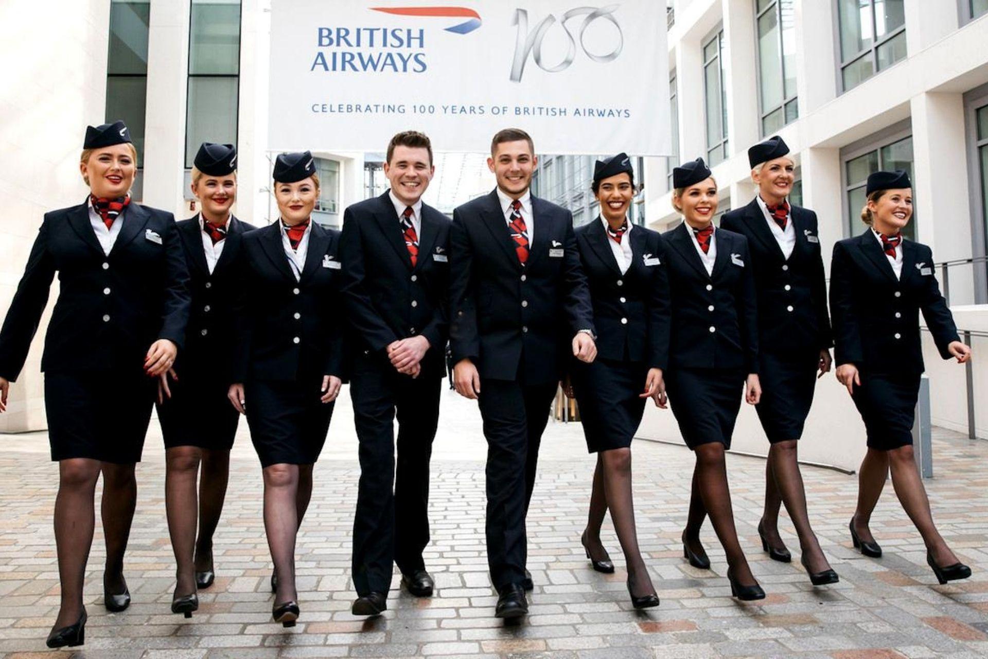 British Airways crew
