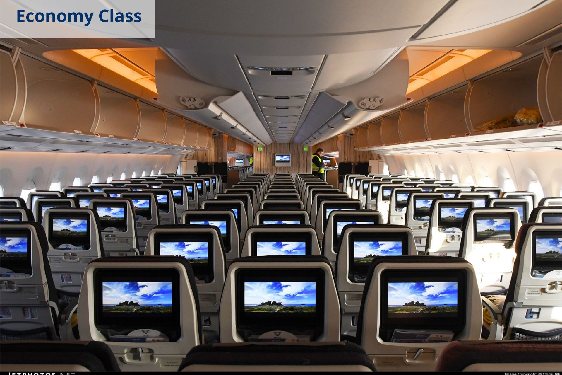 China Airlines economy class