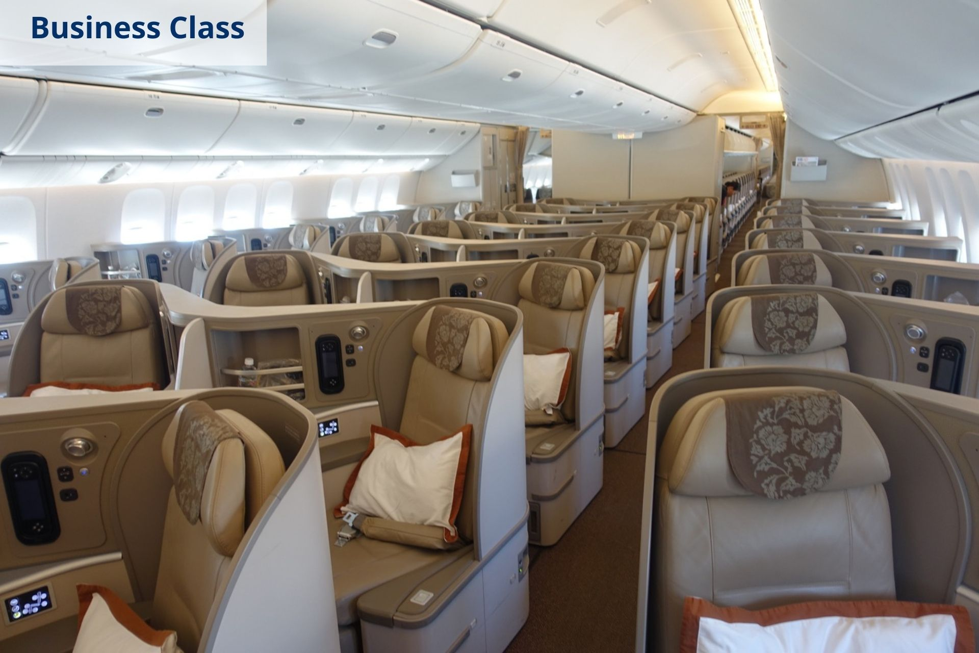 China Eastern business class