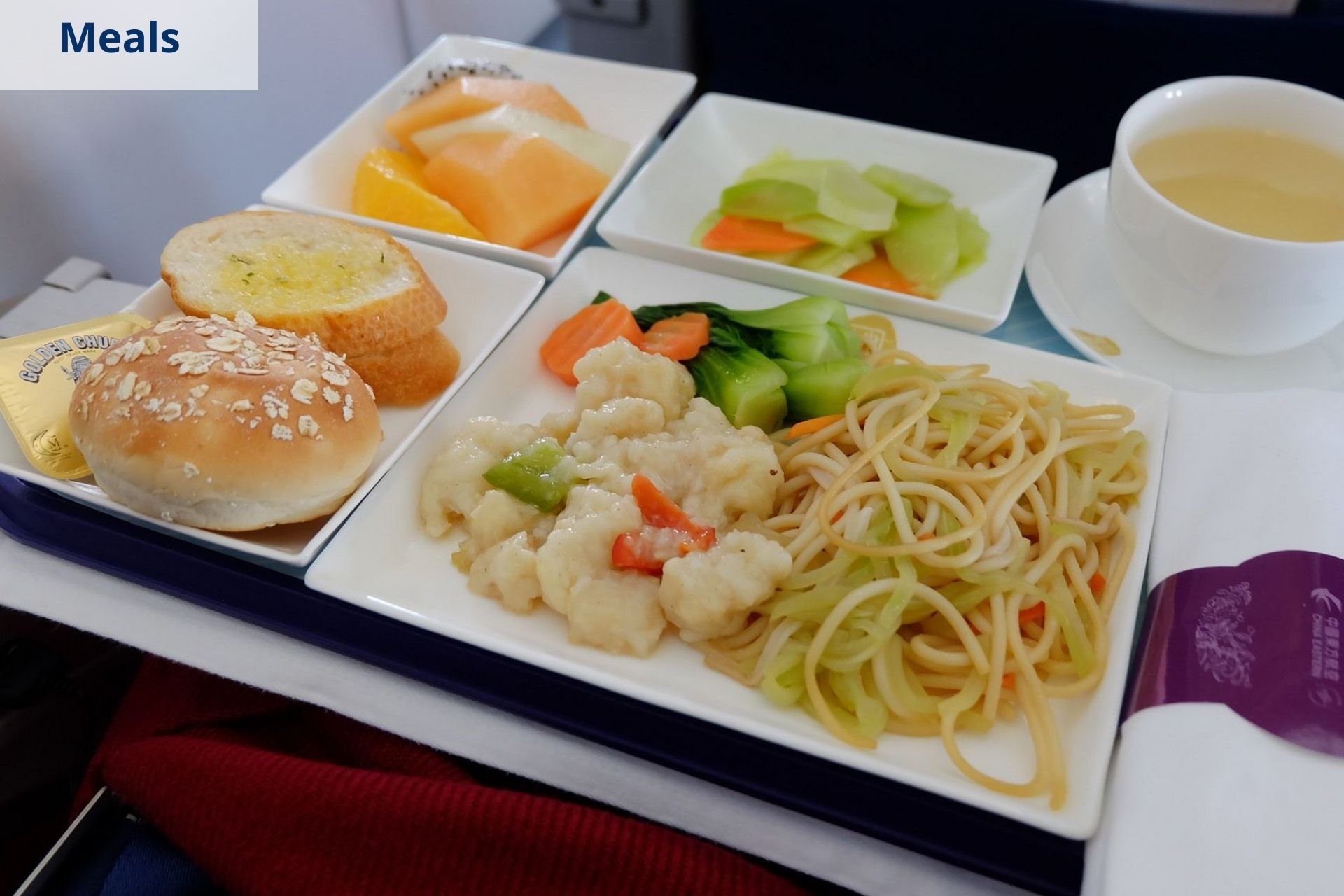 China Eastern meals