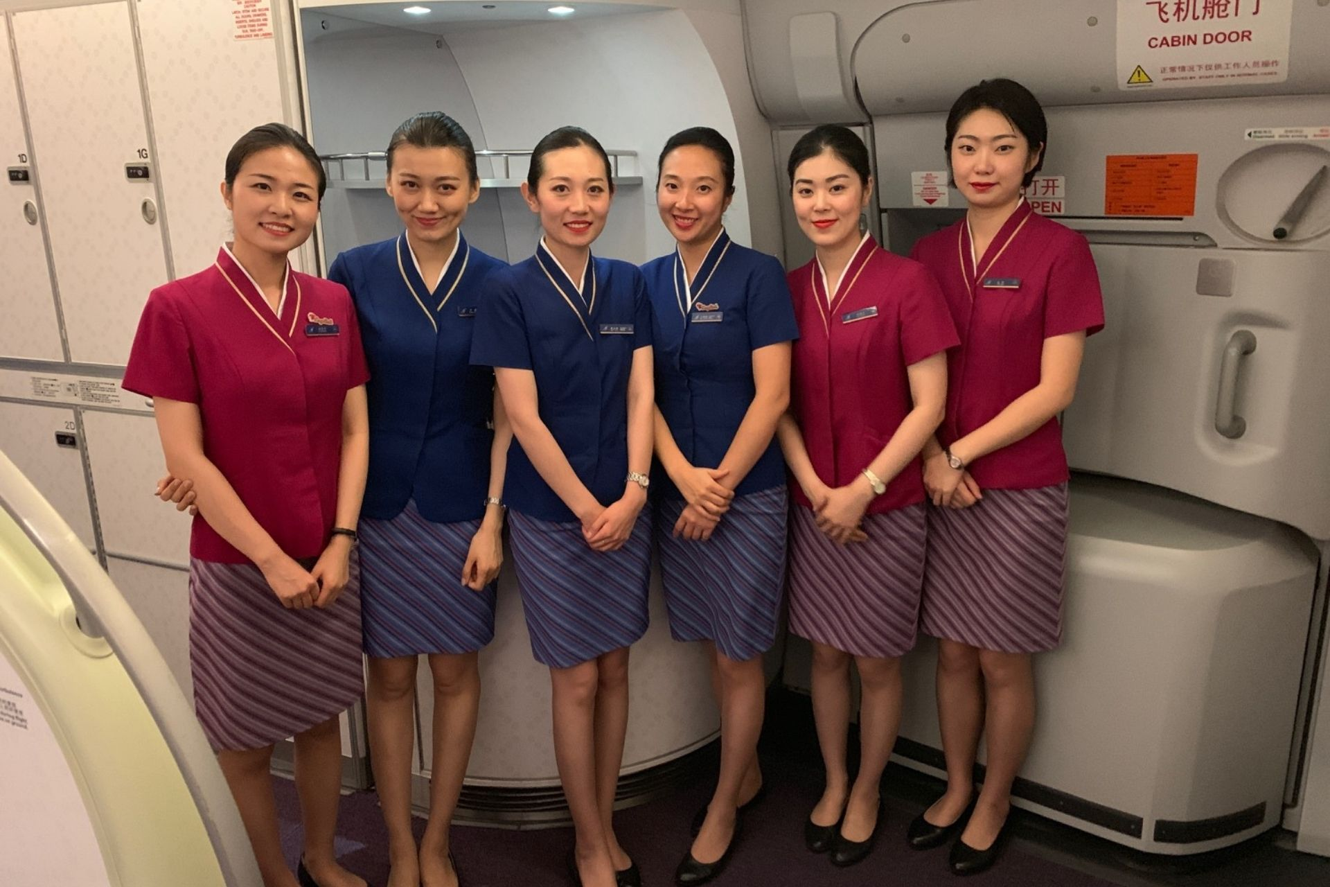 China Southern Airlines crew