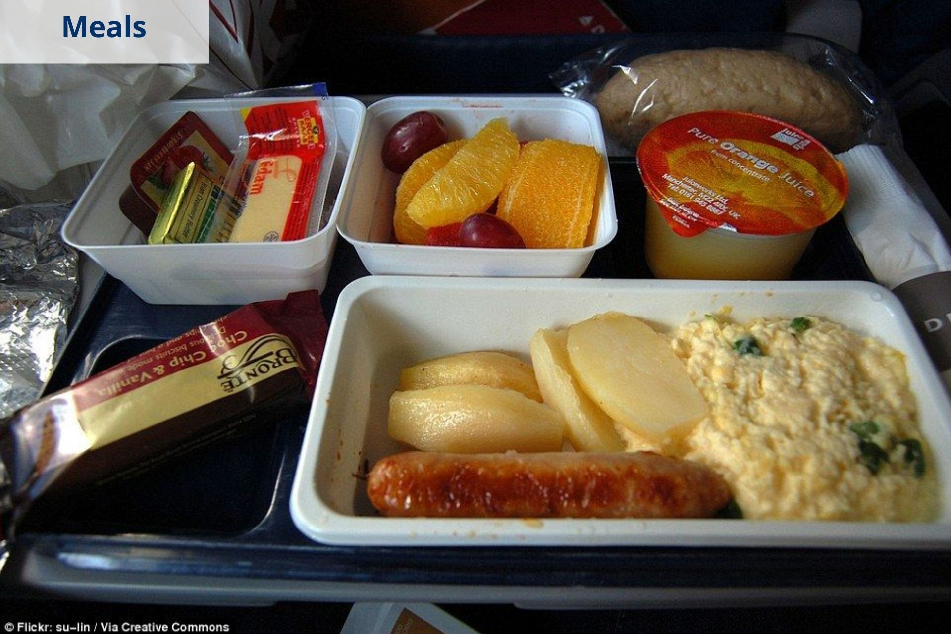 Delta Airlines meals