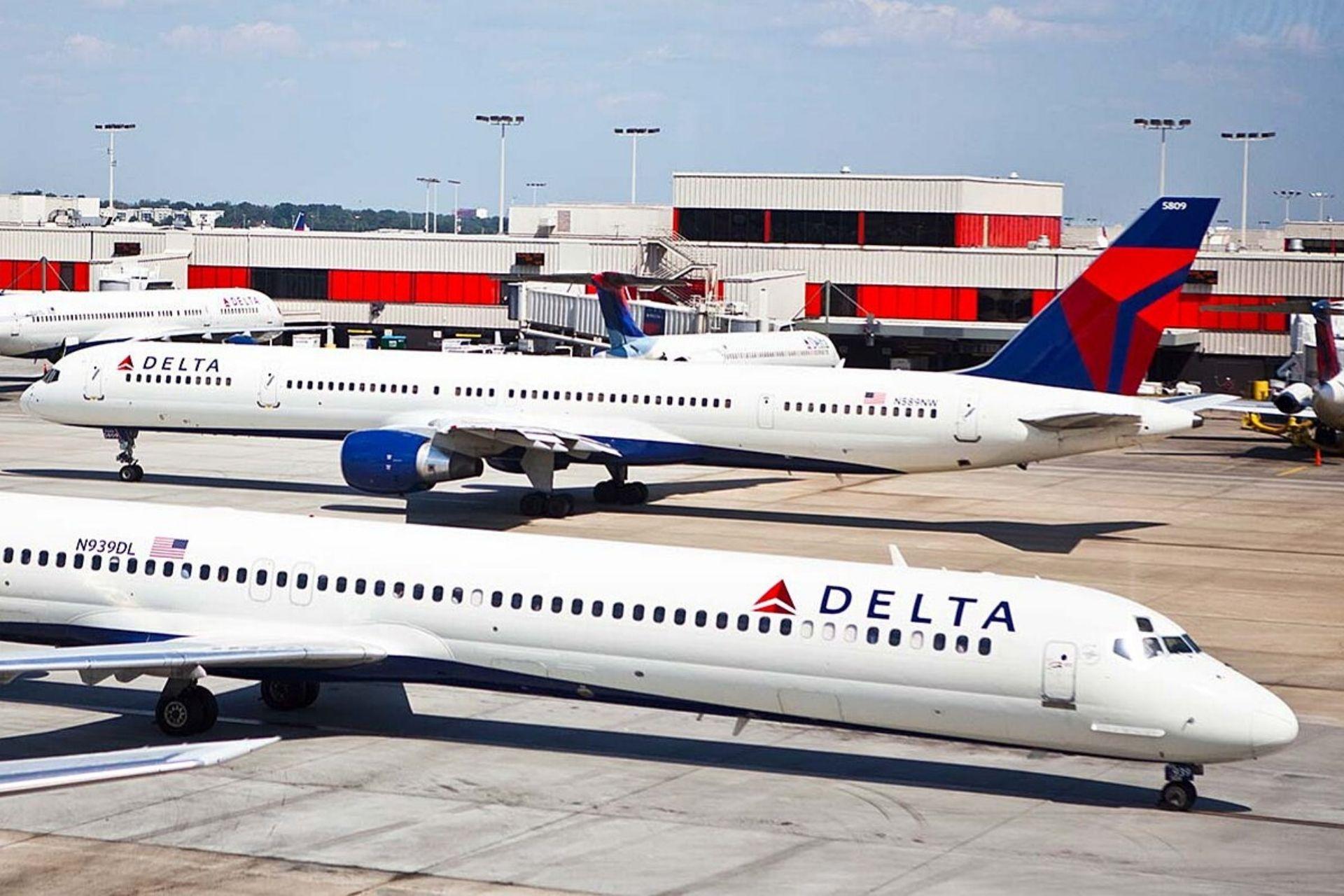 Delta Airlines planes