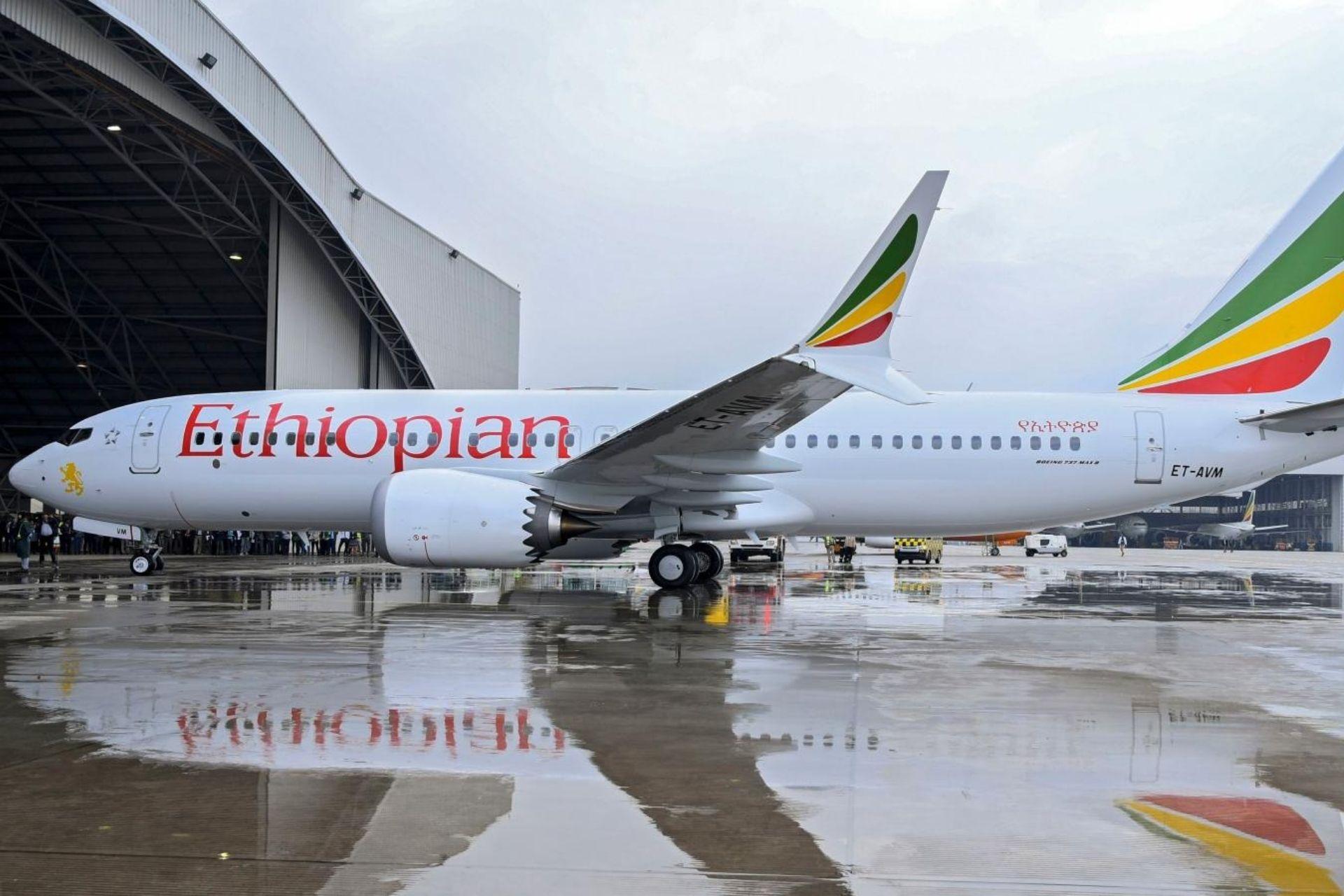 Ethiopian Airlines plane 1