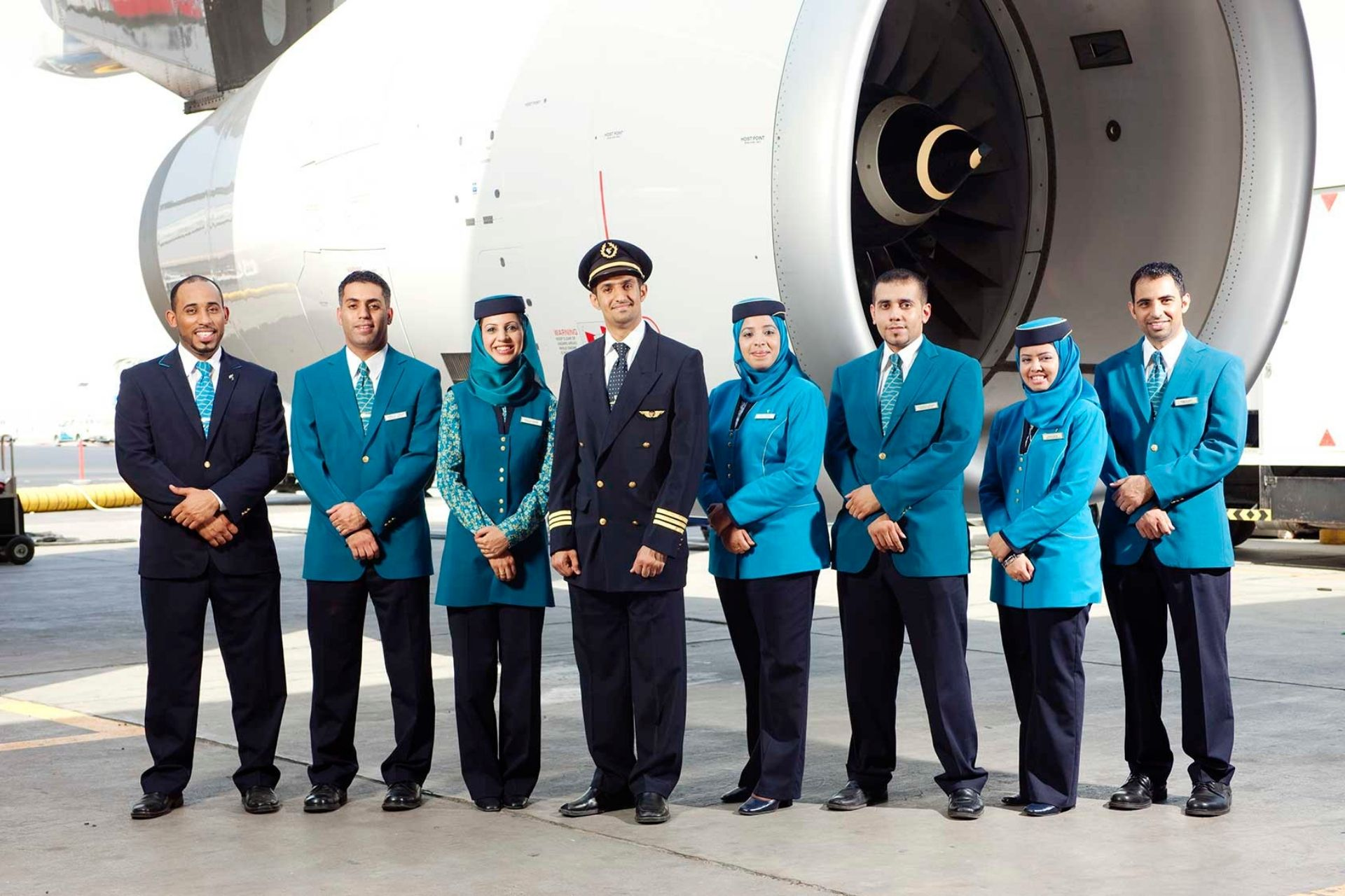 Oman Air crew