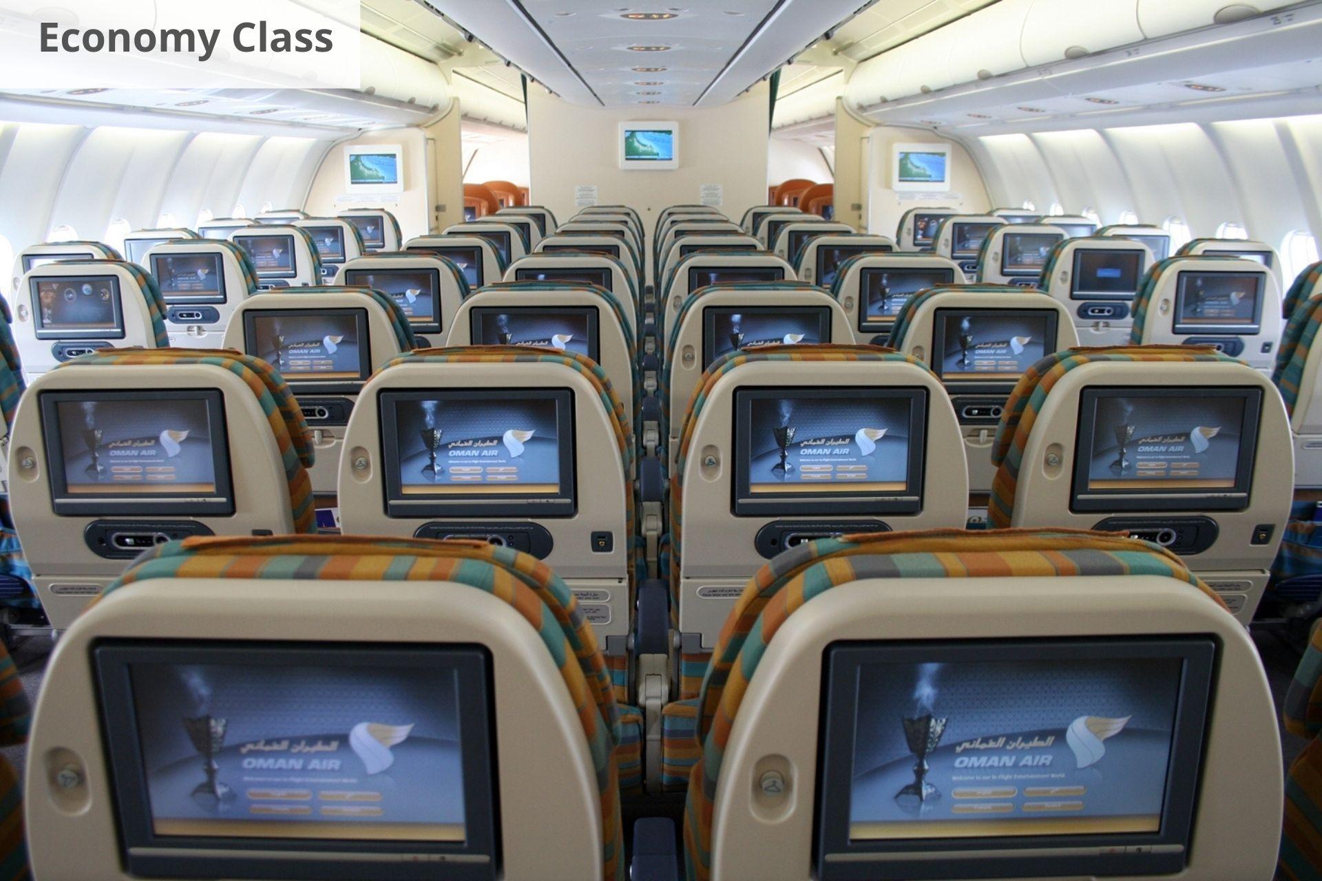 Oman Air economy
