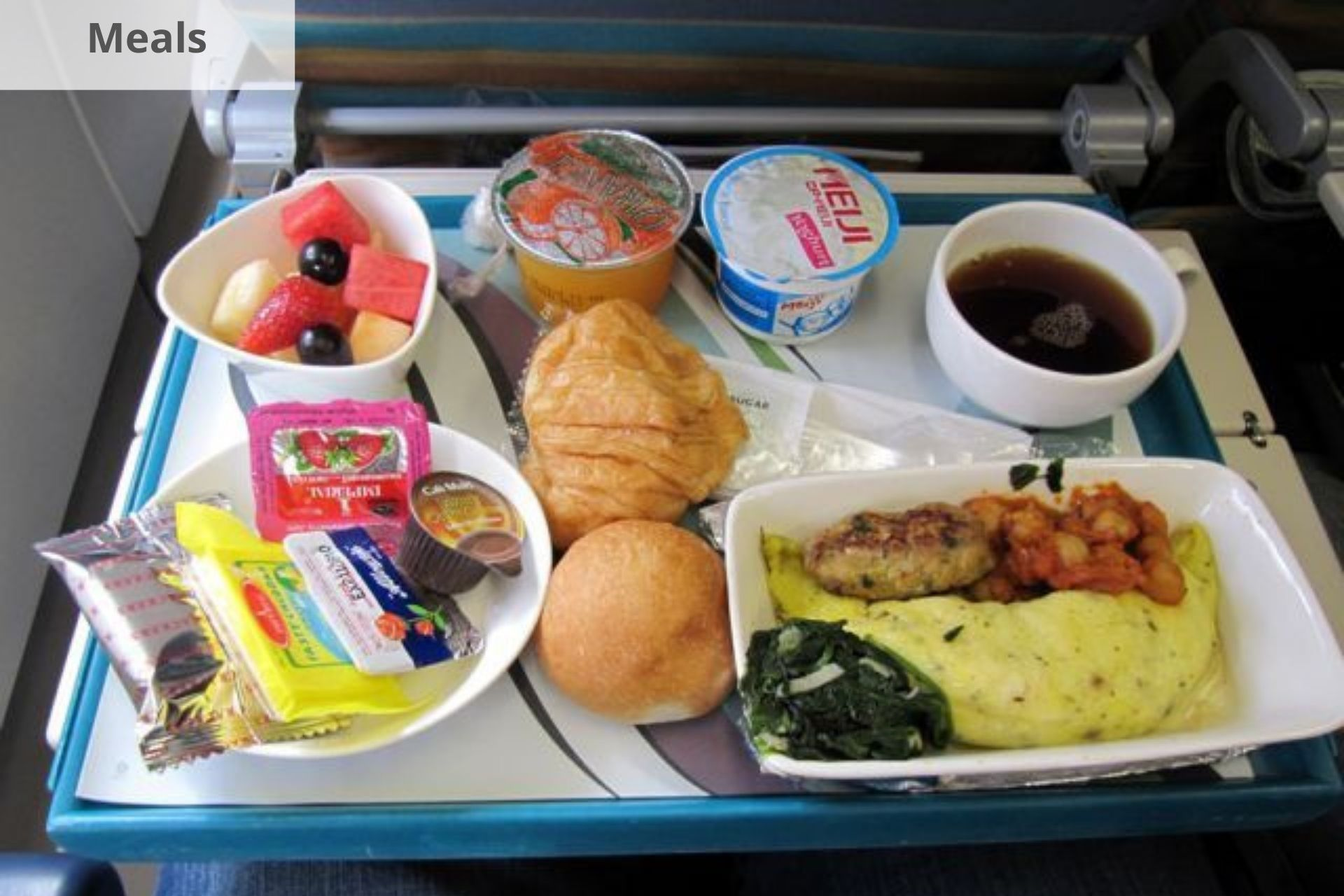 Oman Air meals