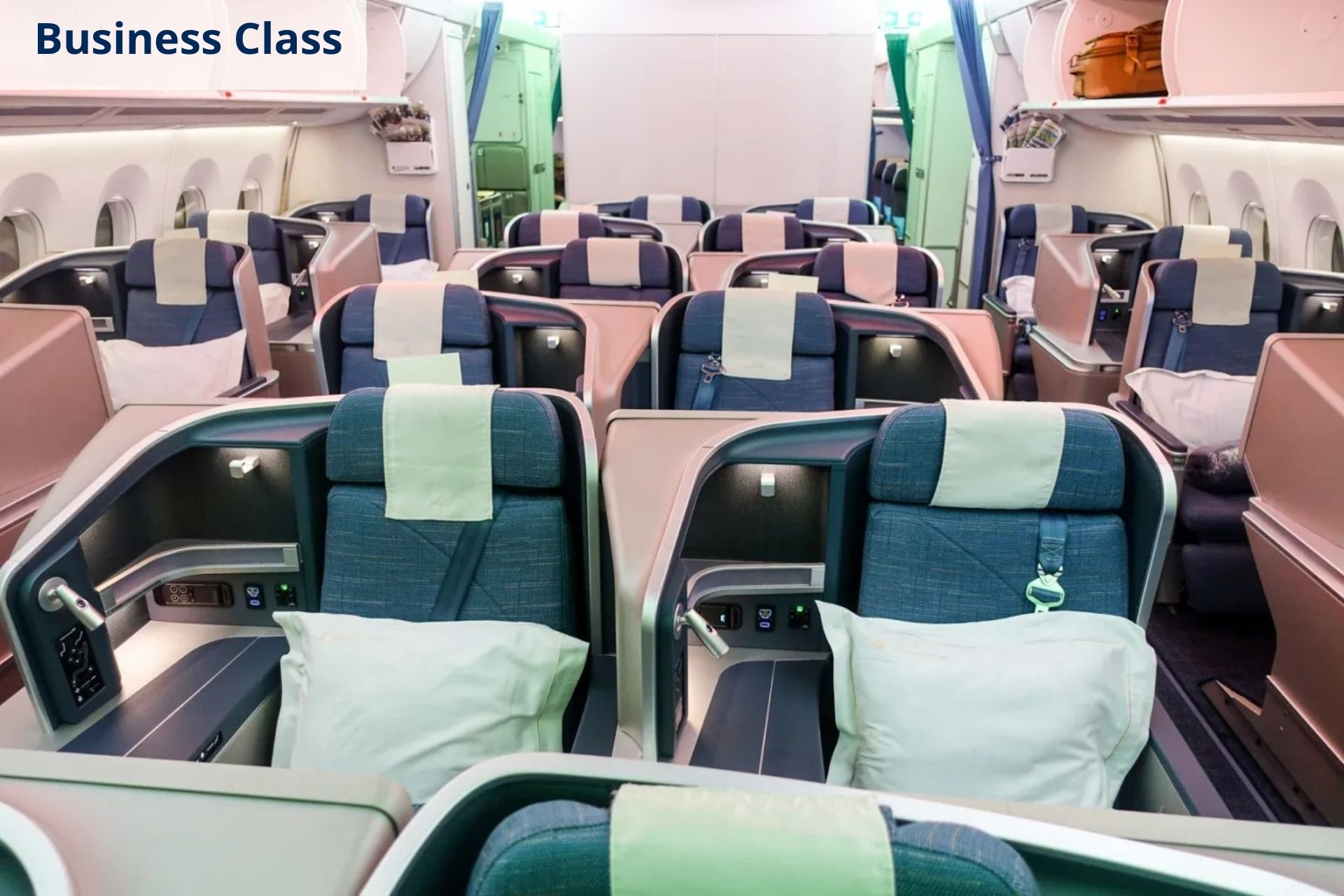 Philippine Airlines business class