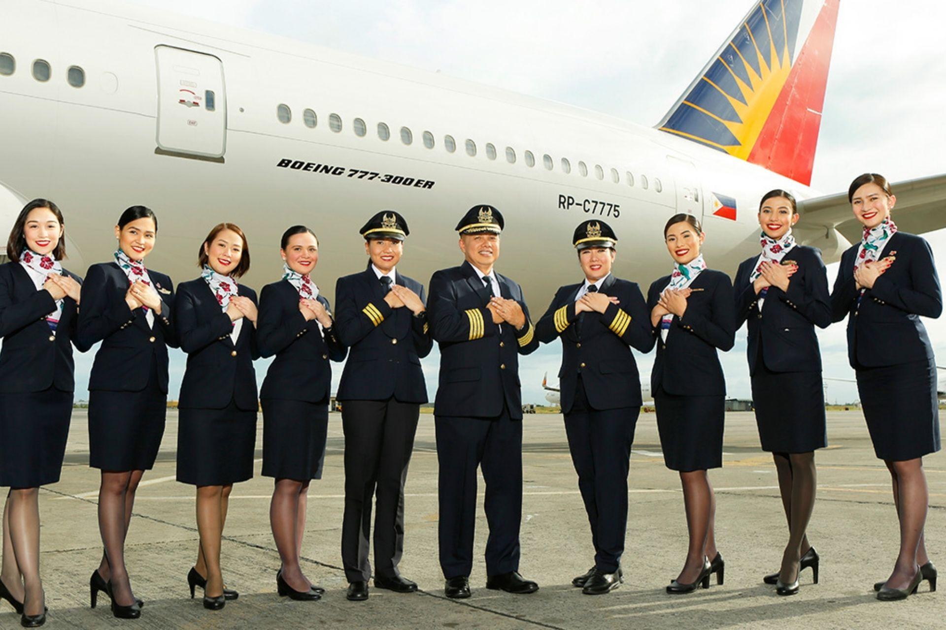 Philippine Airlines crew 1