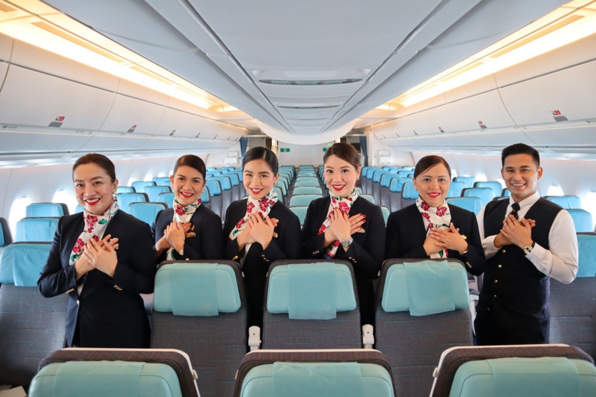 Philippine Airlines crew