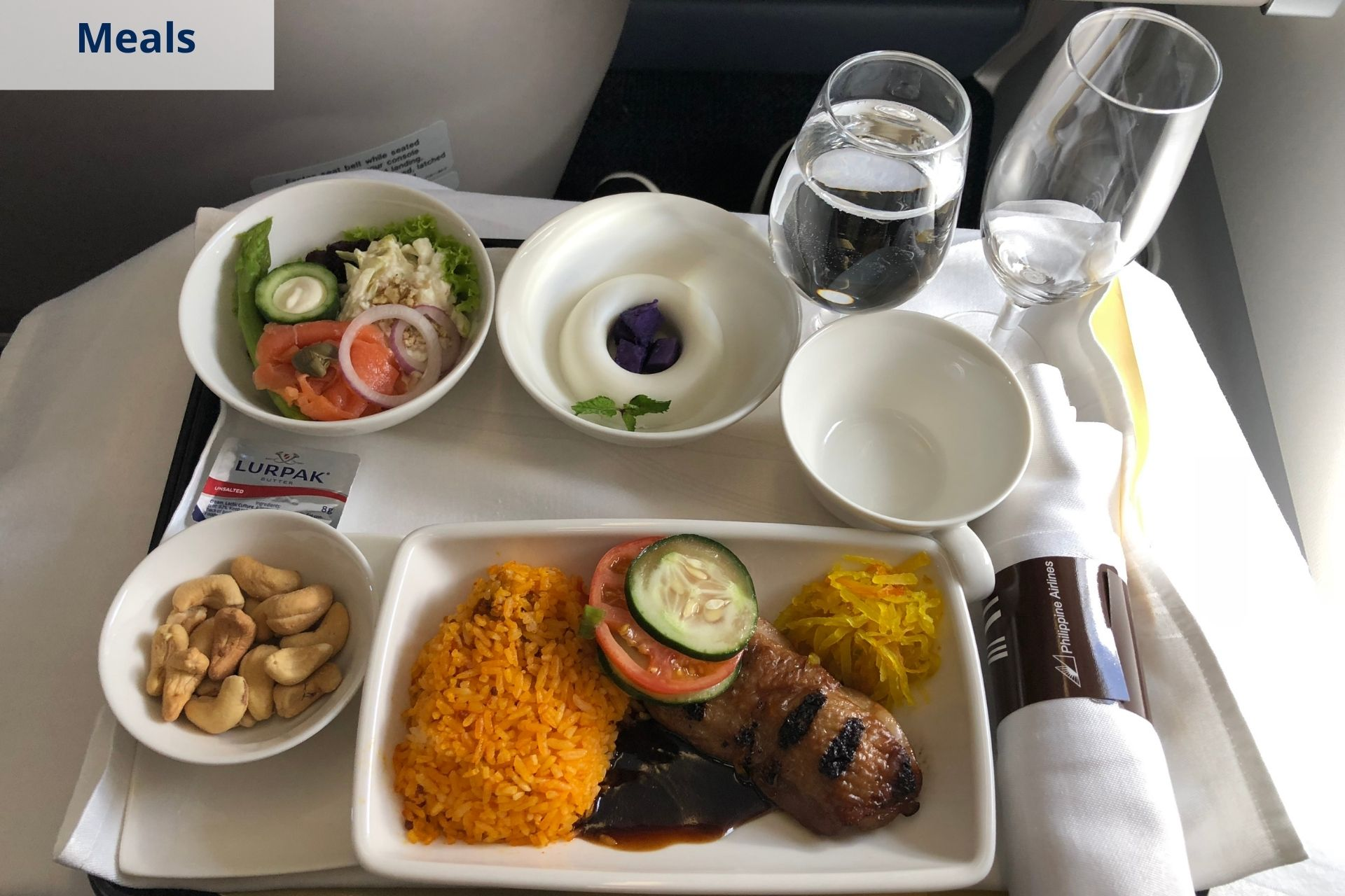 Philippine Airlines meals