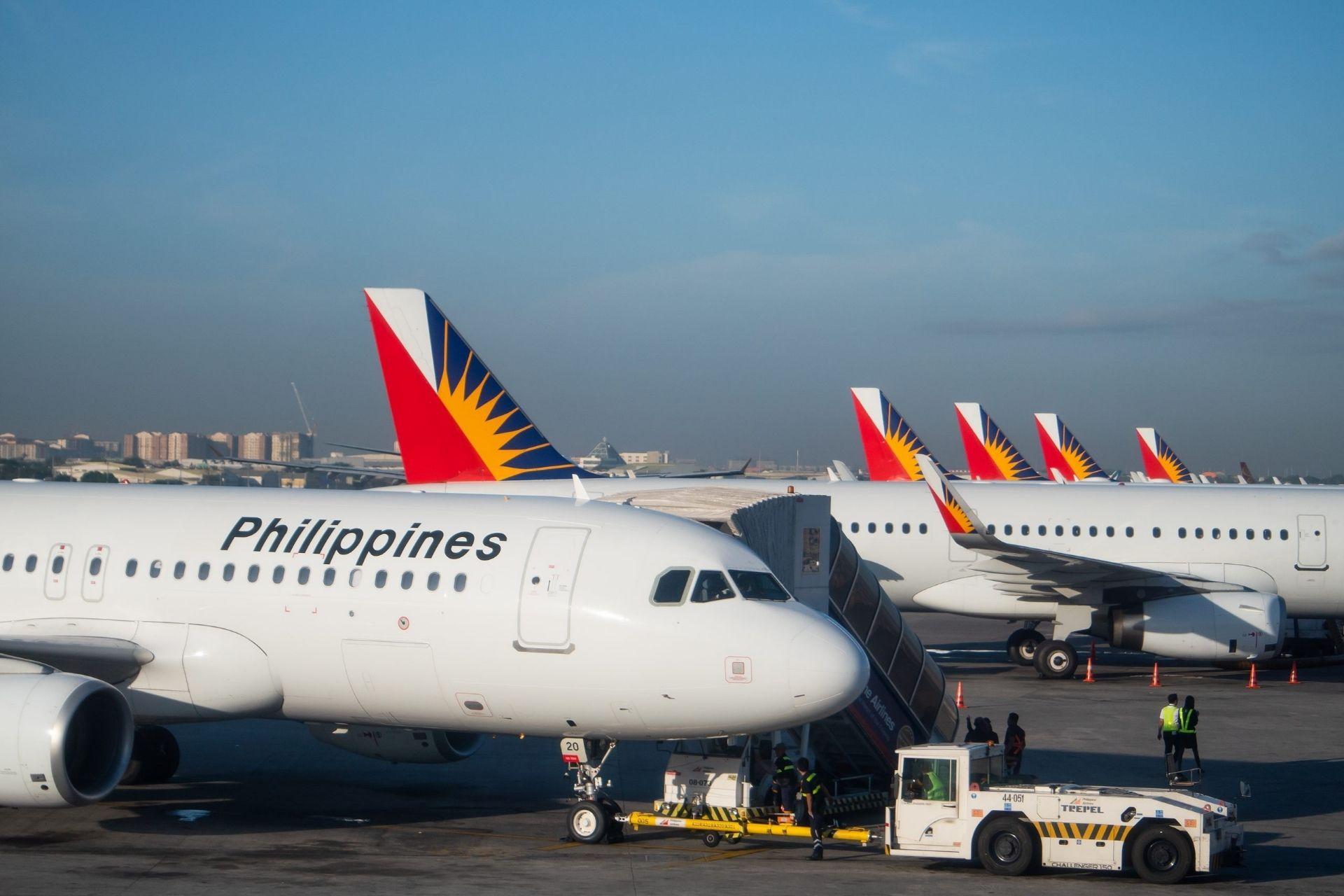 Philippine Airlines planes