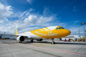 Scoot Airlines plane